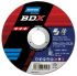 Norton BDX Cutting Disc Aluminium Oxide Cutting Wheel, 230mm Diameter, 3.2mm Thick