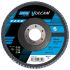 Norton Zirconium Dioxide Medium Flap Disc, 60 Grit, 13500rpm, 115mm x 22mm Bore