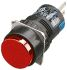 Single Pole Double Throw (SPDT) Momentary Push Button Switch, IP65, 16.2mm, Panel Mount