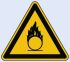 Self-Adhesive Hazard Warning Sign