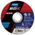 Norton BDX Cutting Disc Aluminium Oxide Grinding Disc, 115mm Diameter, 1mm Thick
