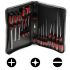 RS Pro Engineers Phillips, Pozidriv, Slotted Flared, Slotted Parallel Screwdriver Set 18 Piece