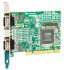 Brainboxes PCI Seriell Platine RS-232 2-Port, 115.2Kbit/s