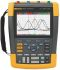 Fluke 190 II Series 190 ScopeMeter Oscilloscope, Handheld, 4 Channels, 100MHz