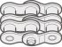 Renold Renold (Blue Box) 06B-2 Offset Link Steel Roller Chain Link