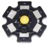 LedEngin Inc LZ1-10R200, LED Circular Array, 1 Red LED