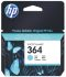 Hewlett Packard 364 Cyan Ink Cartridge