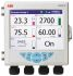 ABB SM50DFC/B2E0020E/STD, 6 Channel, Graphic Recorder Measures Current, Resistance, Temperature, Voltage