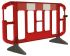 JSP Red & White Barrier & Stanchion, Roadside Barrier