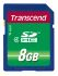 Transcend 8 GB SDHC SD Card