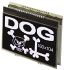 Electronic Assembly EA DOGXL160S-7 Graphic LCD Display, Green, RGB, White on Black, Transmissive