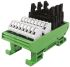 CAMDENBOSS Screw Terminal Interface Module, Male, 20, 24, 26 Pole, 50 V dc, 100mA, DIN Rail Mount