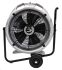 EC Aura ebm-papst Floor, Heavy Duty Fan 7250m³/h 230 V with plug: Type G - British 3-pin