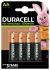 Duracell Recharge Ultra Precharged NiMH Rechargeable AA Batteries, 1300mAh