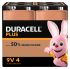 Duracell Plus Power Alkaline 9V Battery PP3