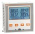 Lovato 1, 2, 3 Phase LCD Digital Power Meter, 92mm Cutout Height
