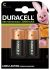Duracell Recharge Ultra NiMH Rechargeable C Batteries, 2200mAh