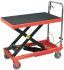 RS PRO Flatbed Steel Platform Trolley, 820 x 520 x 770mm, 300kg Load