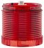 Moflash Beacon Unit Red LED, Steady Light Effect 230 V ac