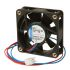 ebm-papst 600 F Series Axial Fan, 60 x 60 x 15mm, 19m³/h, 400mW, 12 V dc