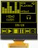 Midas 1.46in Yellow Passive matrix OLED Display 128 X 128 TAB I2C Interface