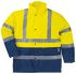 Delta Plus Yellow Unisex Hi Vis Jacket, M