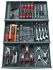 Facom 101 Piece Electricians Tool Kit with Case, VDE Approved