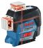Bosch GLL 3-80 C Laser Alignment Tool, 650Nm Laser wavelength, Indoor