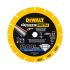 Dewalt DT40255-QZ DT Diamond Cutting & Grinding Disc, 230mm Diameter, 1.5mm Thick