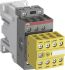AFS 3P Safety Relay, 24 V dc, 30 A, 600 V ac