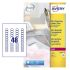 Avery Transparent Address Label, Pack of 1200 Label, 25 Sheet