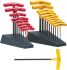 Bondhus 8 pieces Hex Key Set,  T Shape 1/4in