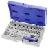 Expert by Facom E031805 22 Piece Socket Set, 3/8 in Square Drive