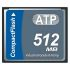 ATP L800Pi CompactFlash Industrial 512 MB SLC Compact Flash Card