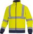Delta Plus Navy/Yellow Unisex Hi Vis Jacket, S