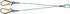 Tractel 1.5m Lanyard Screw Karabiner Twin