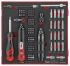 Teng Tools 1/2 in, 1/4 in Square Torque Screwdriver, 1-5Nm