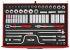 Teng Tools TTESK63 63 Piece Socket Set, 1/2 in 12 Point Socket Drive