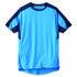 Parade Blue Men's Polyester Short Sleeve T-Shirt, UK- XXXL, EUR- XXXL