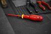 Facom Flat Standard Screwdriver 0.8 x 4 mm Tip, VDE 1000V Approved