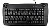 RS PRO Mini Keyboard Wired USB Trackball, QWERTY (UK) Black