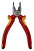 Knipex VDE Insulated Chrome Vanadium Steel Combination Pliers Combination Pliers, 180 mm Overall Length