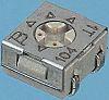 500kΩ SMD Trimmer Potentiometer 0.25W Top Adjust Bourns