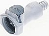 Straight Male Hose Coupling Coupling Body - Valved,