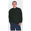 Dickies Navy Men's Work Sweatshirt Cotton, Polyester XL