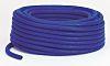 RS PRO PVC Flexible Tubing, Blue, 21.5mm External