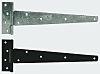 RS PRO Galvanised Steel Tee Hinge, 609.6mm