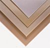 Beige Plastic Sheet, 590mm x 285mm x 2mm, Epoxy Resin, Weave Cotton
