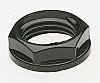 CMP Black Nylon Cable Gland Locknut, PG21 Thread