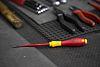 Wiha Tools Flat Standard Screwdriver 3.5 mm Tip, VDE 1000V Approved